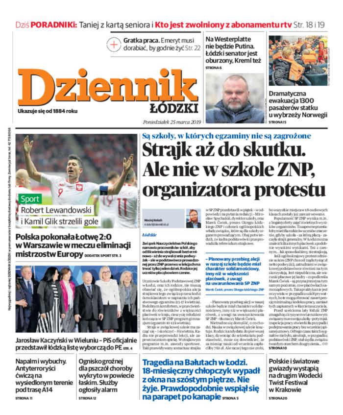 Dziennik Łódzki -                     2019-03-25