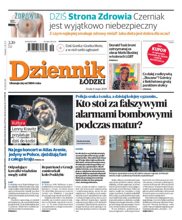 Dziennik Łódzki -                     2019-05-08
