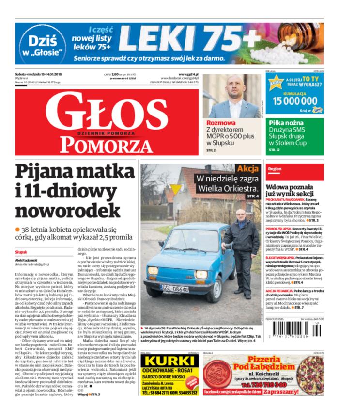 Głos - Dziennik Pomorza -                     2018-01-13