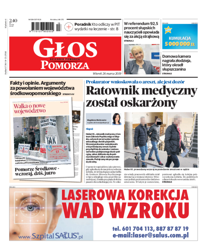 Głos - Dziennik Pomorza -                     2019-03-26