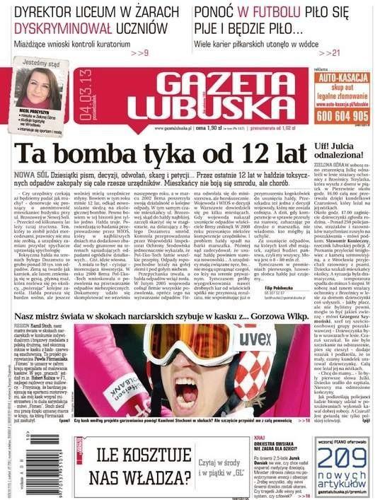 Gazeta Lubuska -                     2013-03-04