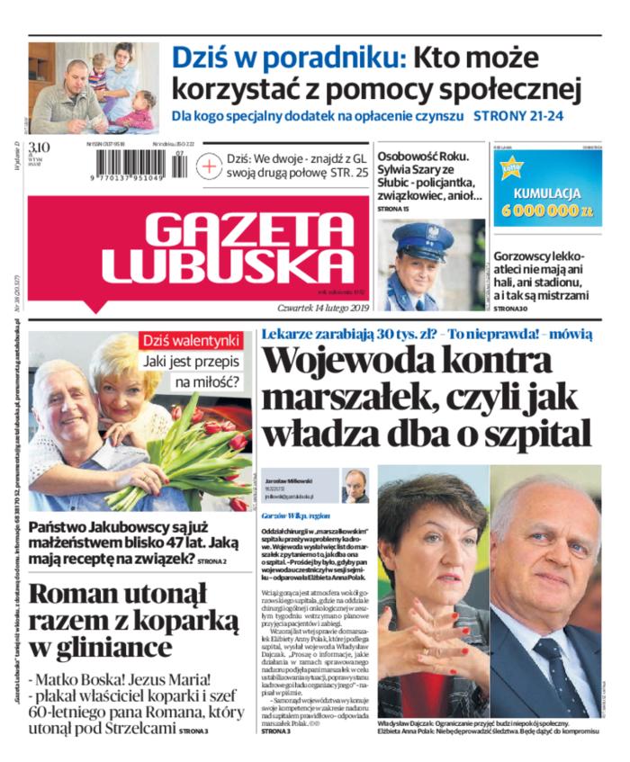 Gazeta Lubuska -                     2019-02-14
