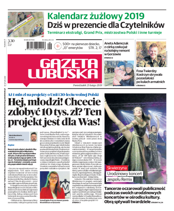 Gazeta Lubuska -                     2019-02-25