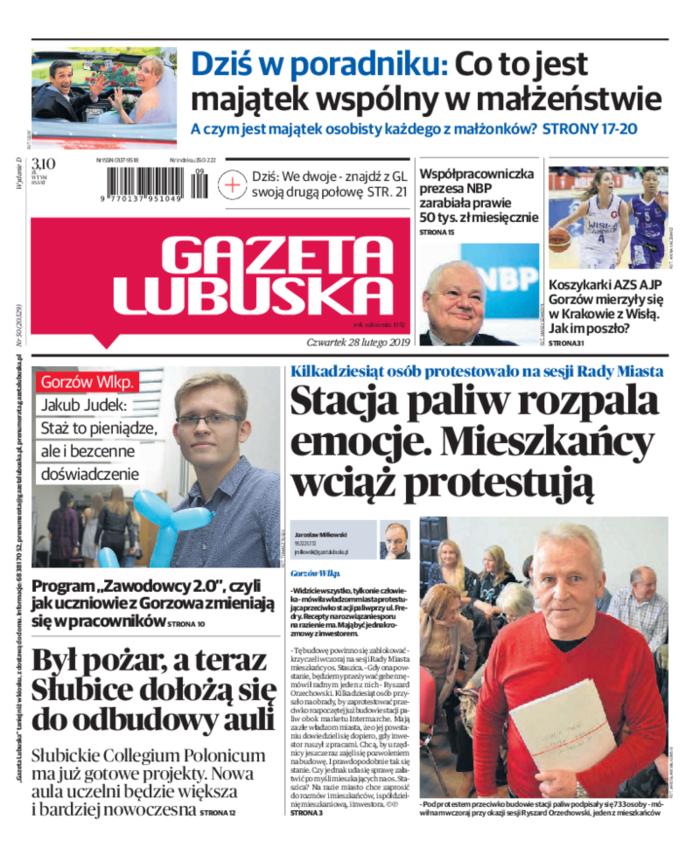 Gazeta Lubuska -                     2019-02-28