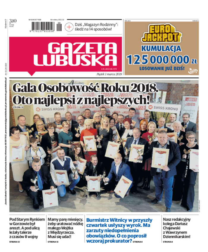 Gazeta Lubuska -                     2019-03-01