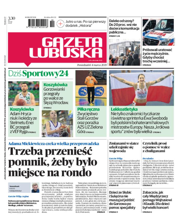 Gazeta Lubuska -                     2019-03-04