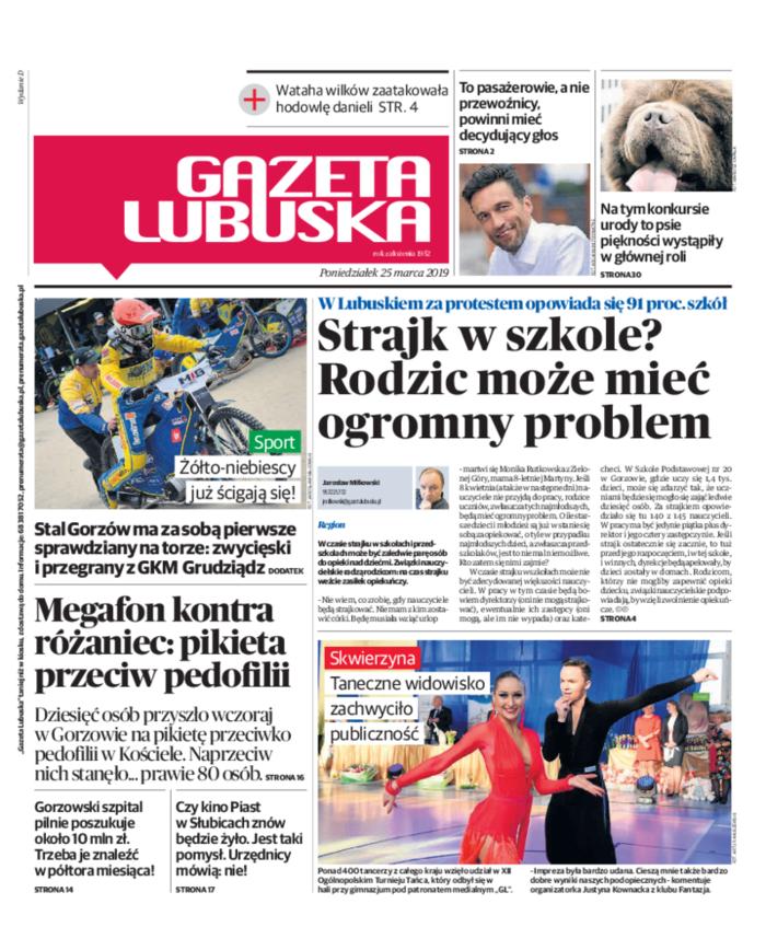 Gazeta Lubuska -                     2019-03-25