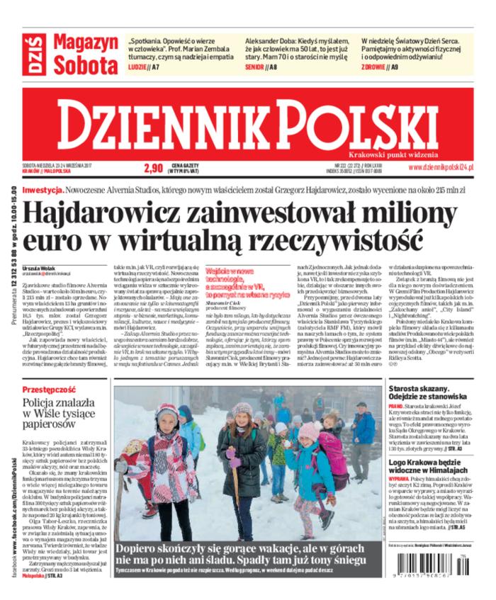 Dziennik Polski -                     2017-09-23