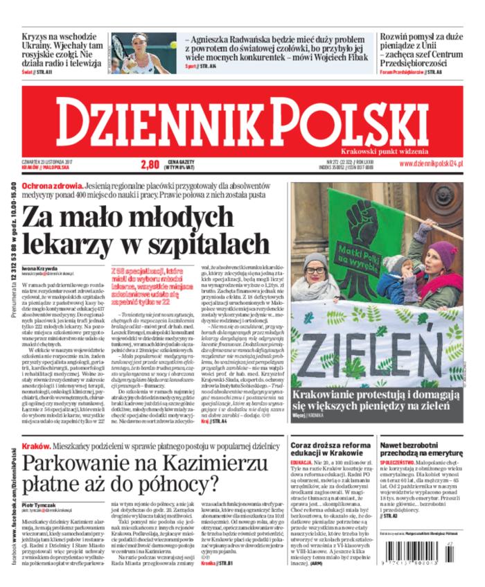 Dziennik Polski -                     2017-11-23