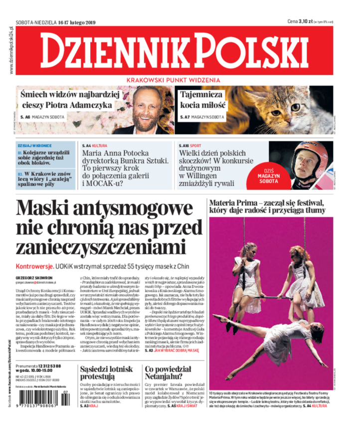 Dziennik Polski -                     2019-02-16