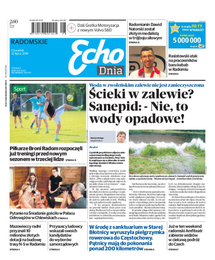 Echo Dnia -                     2018-07-12