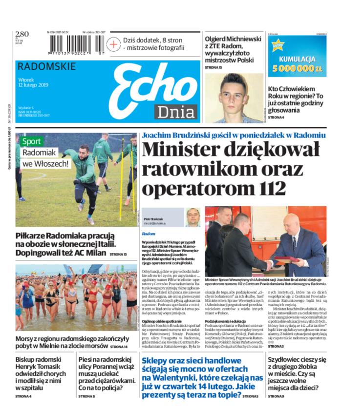 Echo Dnia -                     2019-02-12