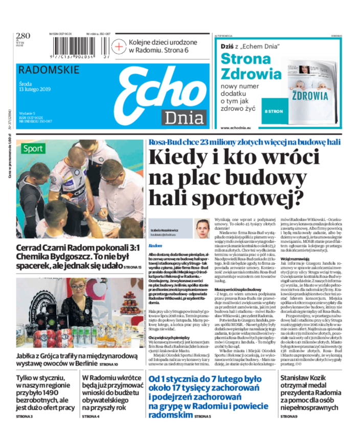 Echo Dnia -                     2019-02-13