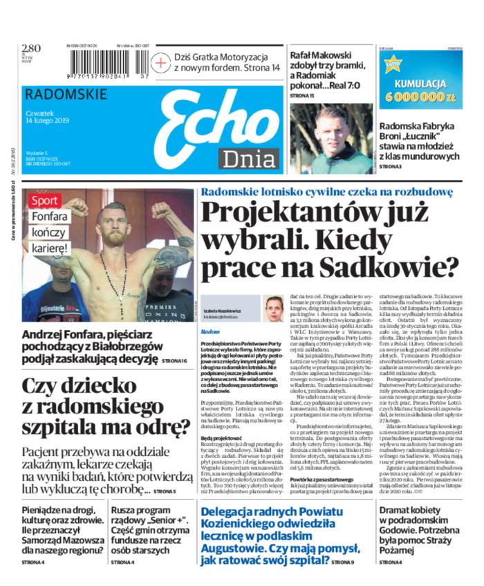 Echo Dnia -                     2019-02-14