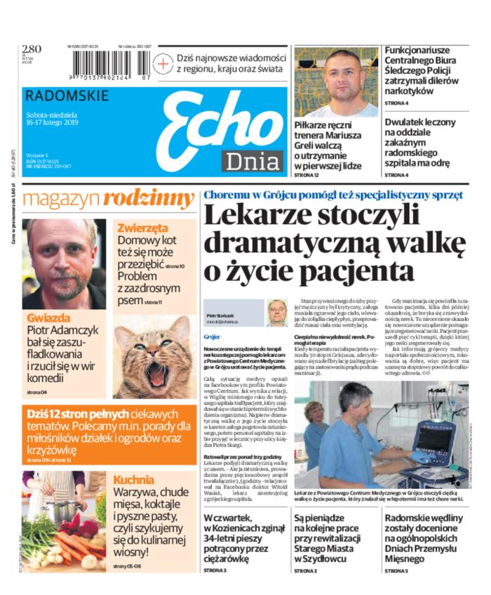 Echo Dnia -                     2019-02-16