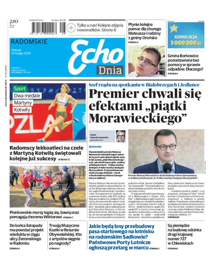 Echo Dnia -                     2019-02-19