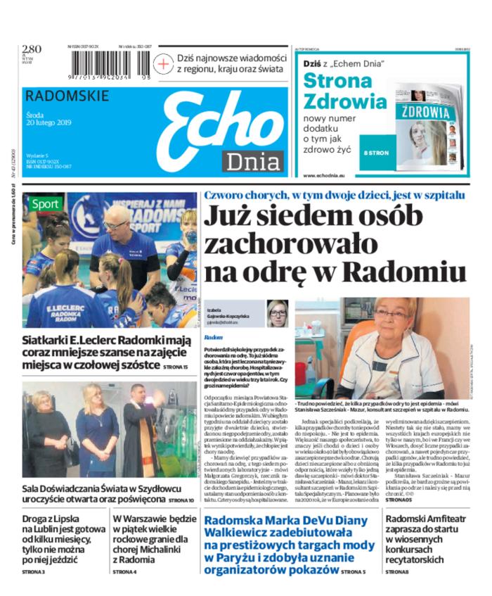 Echo Dnia -                     2019-02-20