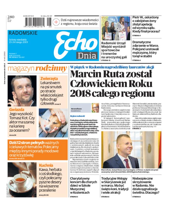 Echo Dnia -                     2019-02-23