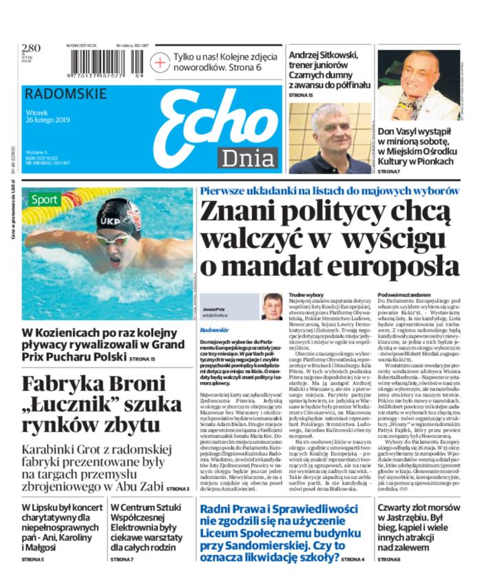 Echo Dnia -                     2019-02-26