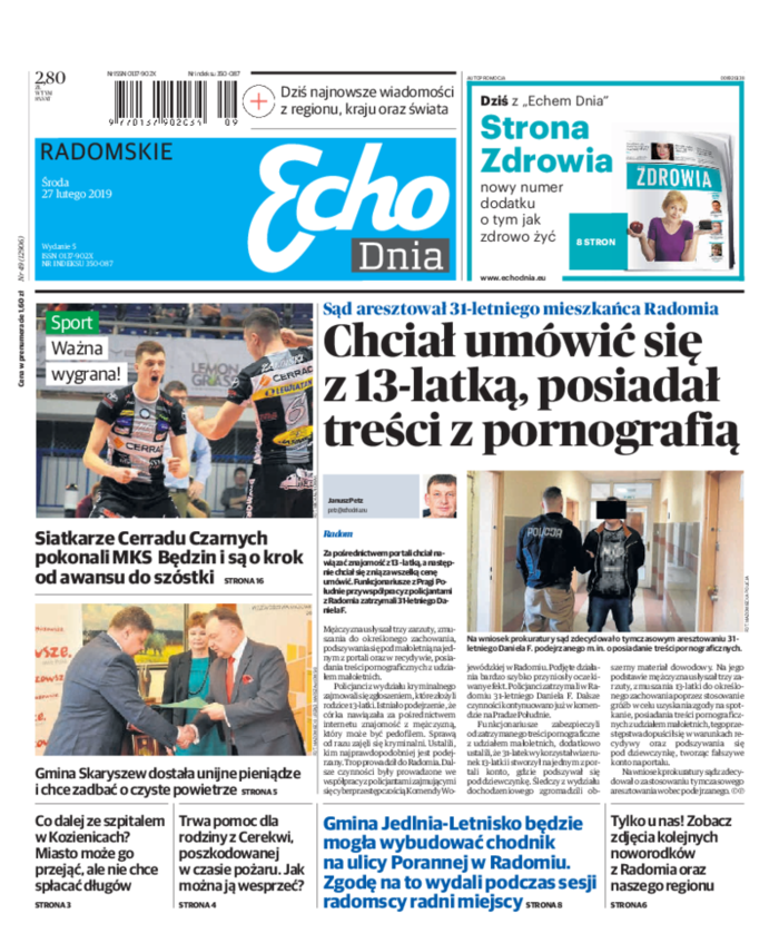 Echo Dnia -                     2019-02-27