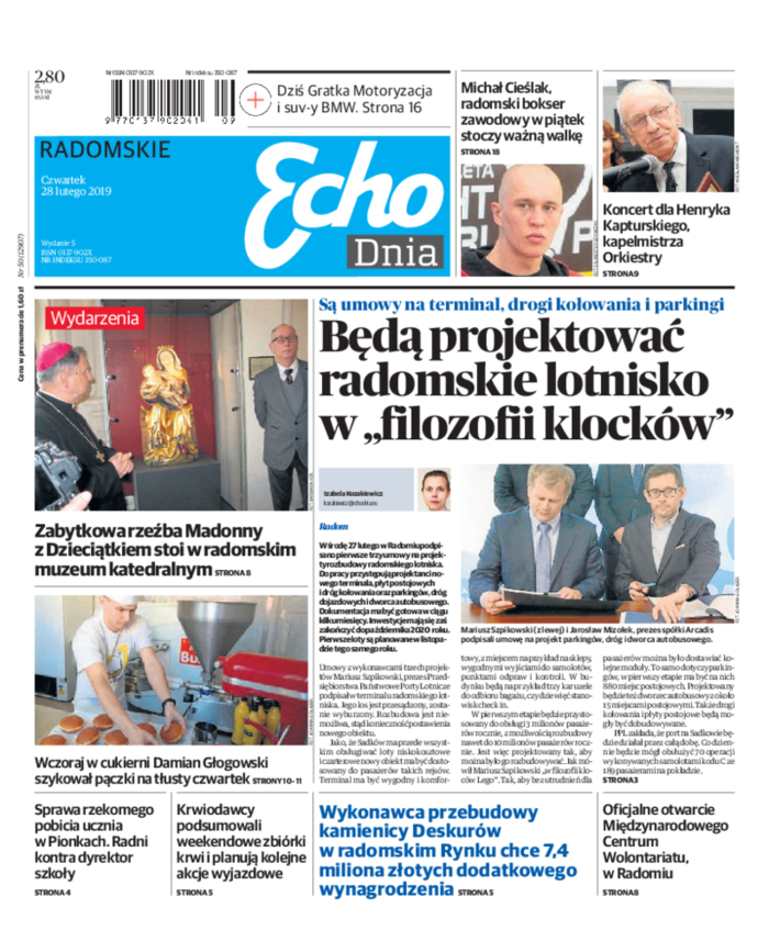 Echo Dnia -                     2019-02-28