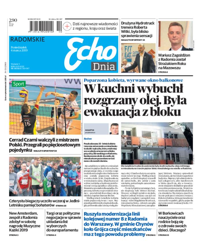 Echo Dnia -                     2019-03-04