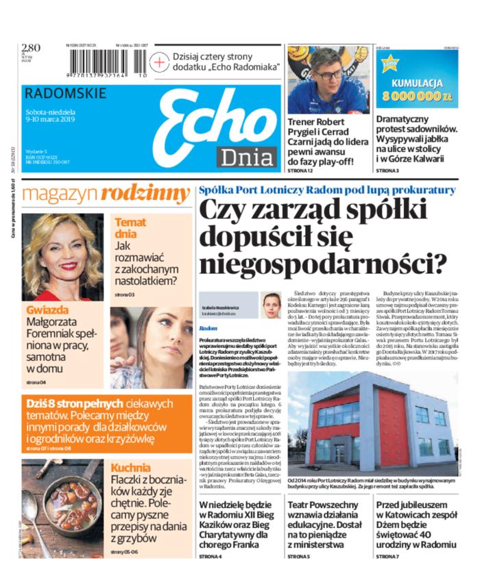 Echo Dnia -                     2019-03-09