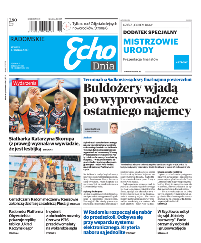 Echo Dnia -                     2019-03-19