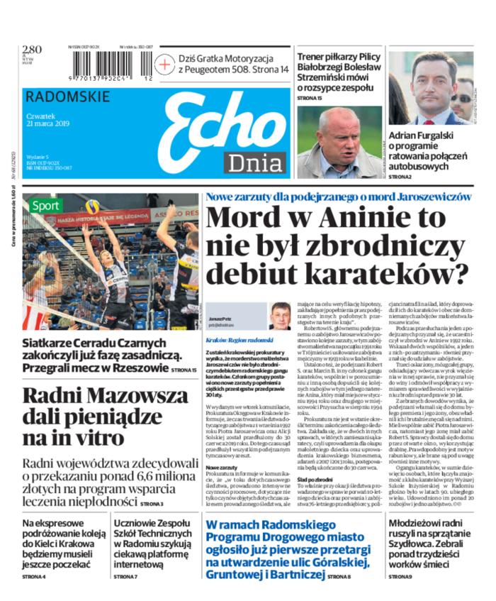 Echo Dnia -                     2019-03-21