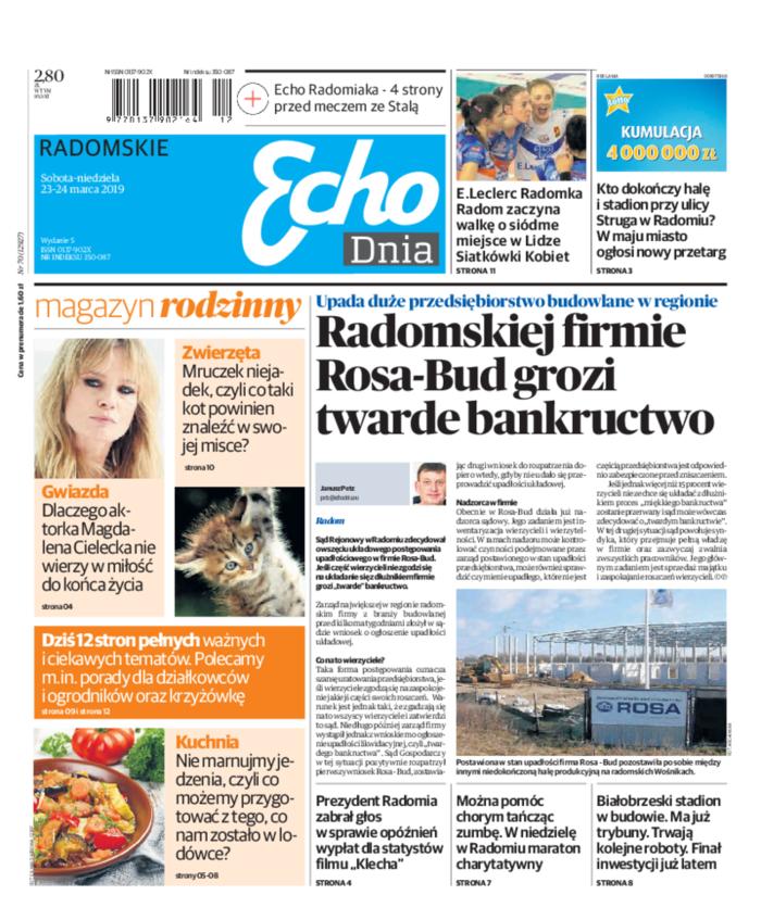 Echo Dnia -                     2019-03-23