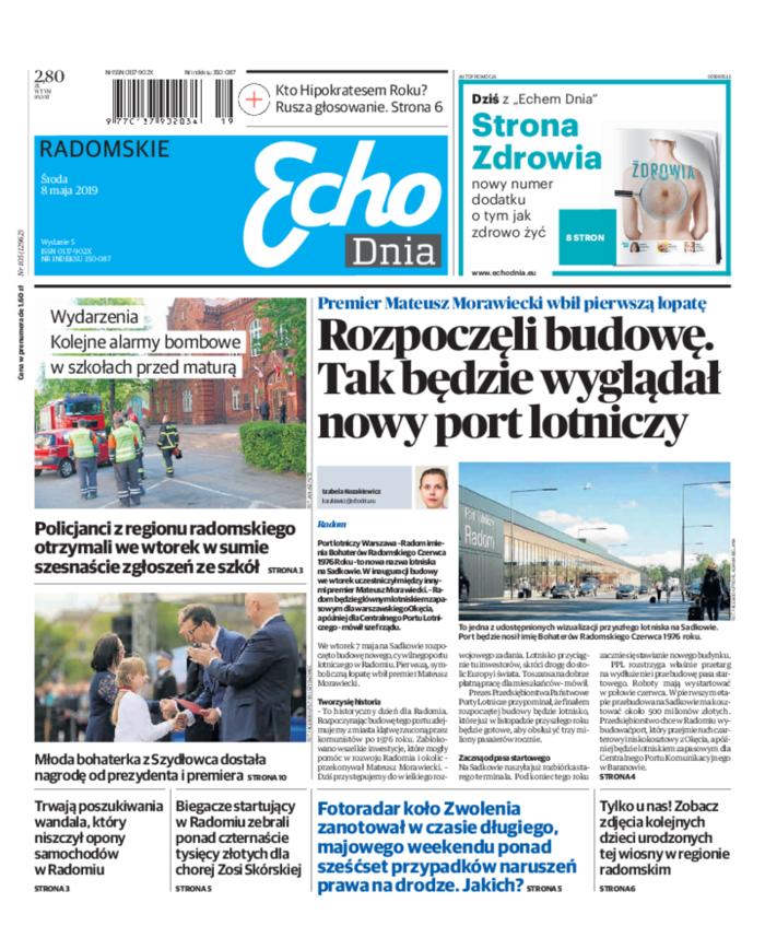 Echo Dnia -                     2019-05-08