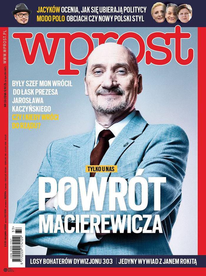 Wprost -                     33/2018