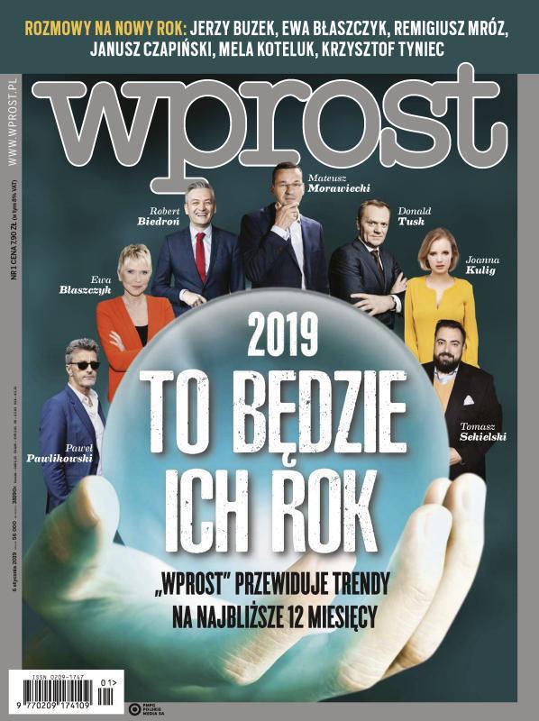 Wprost -                     1/2019