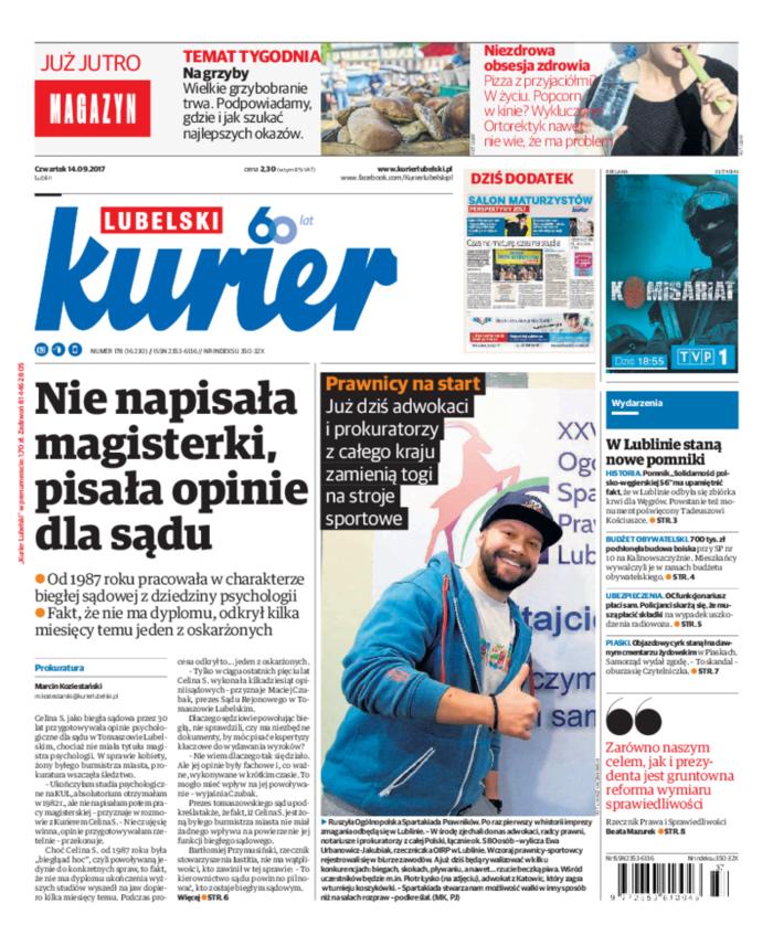 Kurier Lubelski -                     2017-09-14