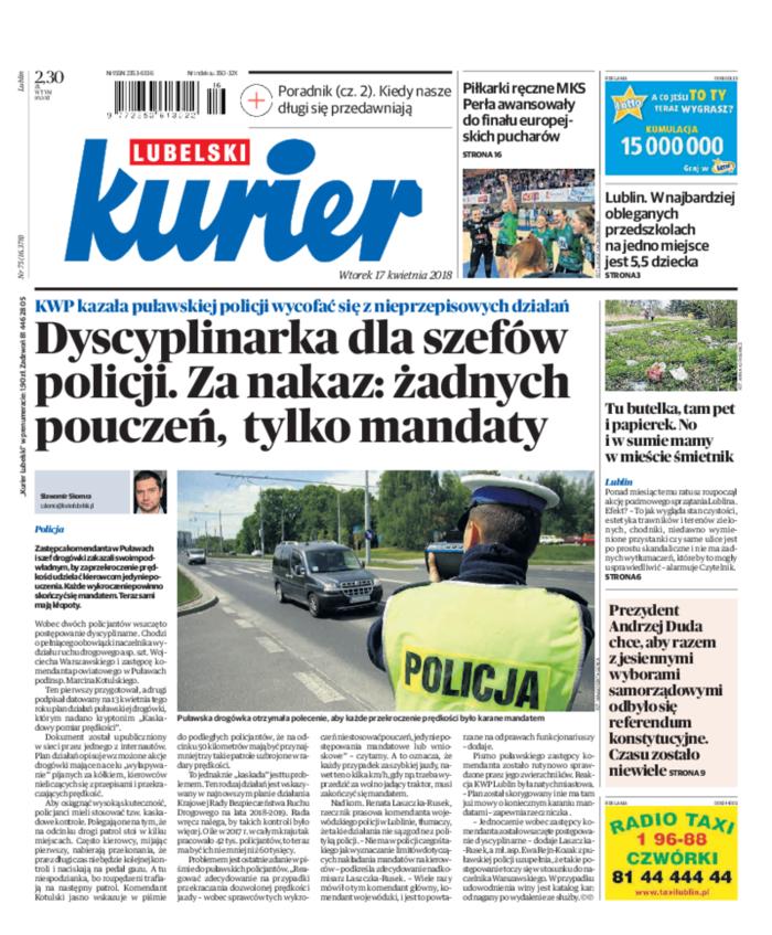 Kurier Lubelski -                     2018-04-17