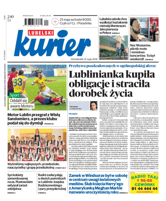 Kurier Lubelski -                     2018-05-21