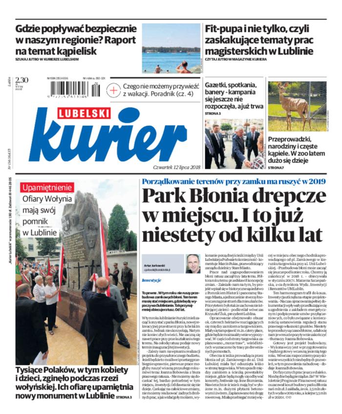 Kurier Lubelski -                     2018-07-12