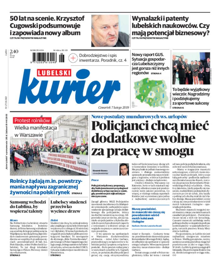 Kurier Lubelski -                     2019-02-07