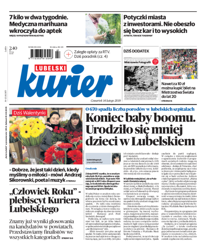 Kurier Lubelski -                     2019-02-14