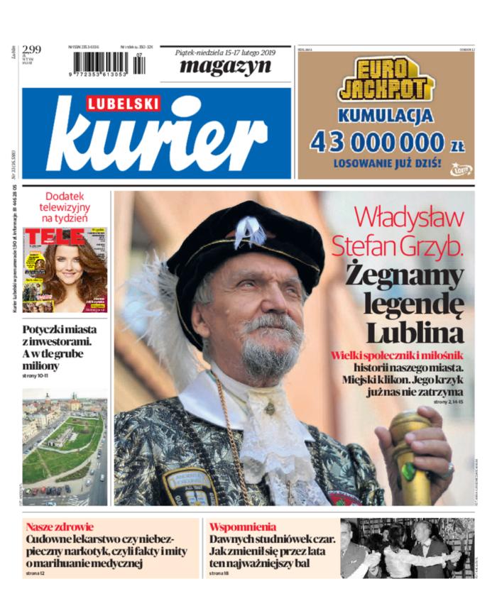 Kurier Lubelski -                     2019-02-15