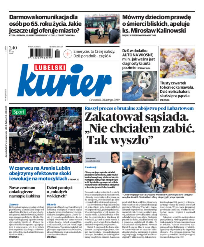 Kurier Lubelski -                     2019-02-28