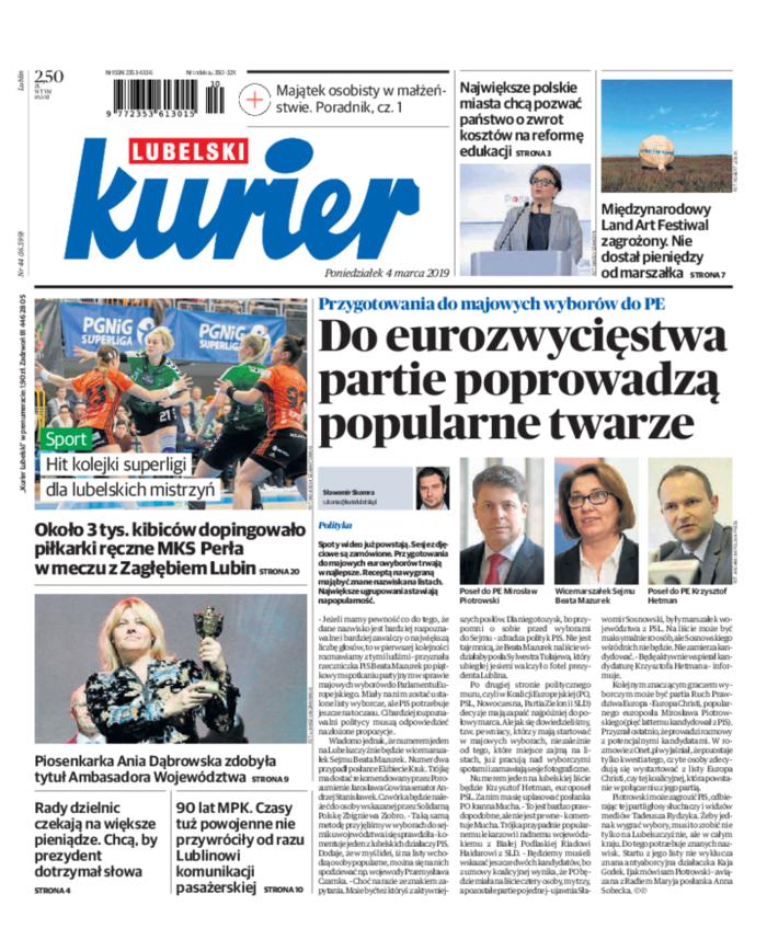 Kurier Lubelski -                     2019-03-04