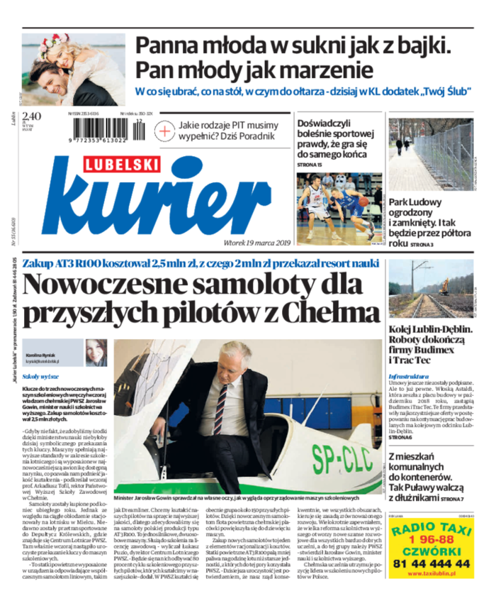 Kurier Lubelski -                     2019-03-19