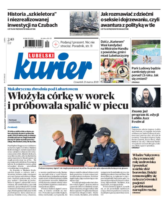 Kurier Lubelski -                     2019-03-21