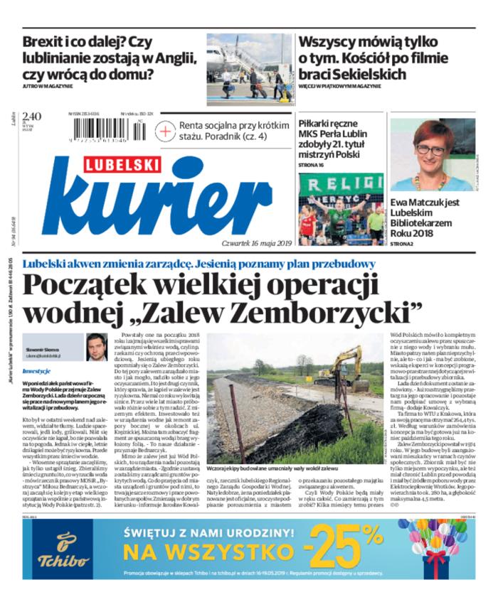 Kurier Lubelski -                     2019-05-16