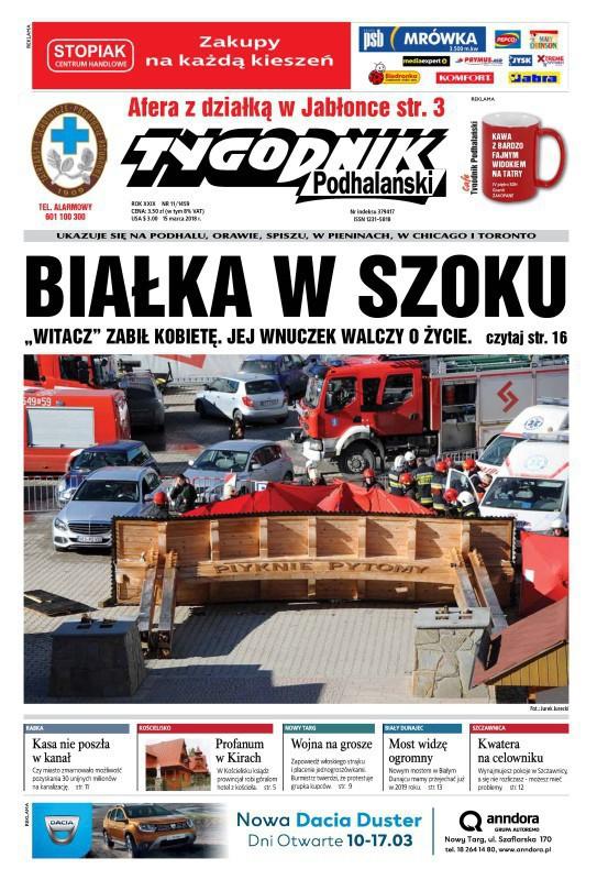 Tygodnik Podhalański -                     11/2018