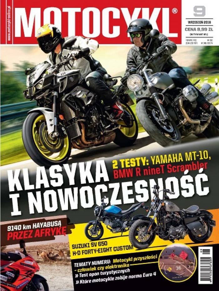 Motocykl -                     9/2016