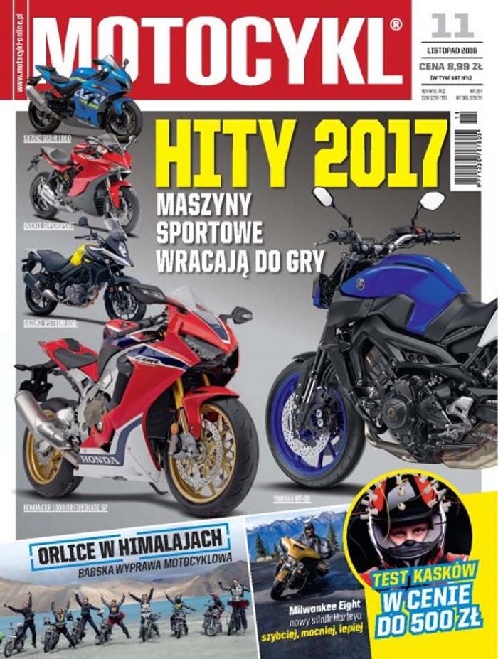 Motocykl -                     11/2016