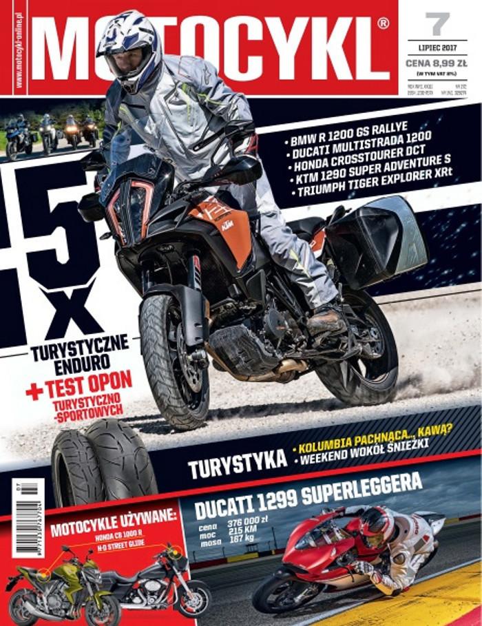 Motocykl -                     7/2017