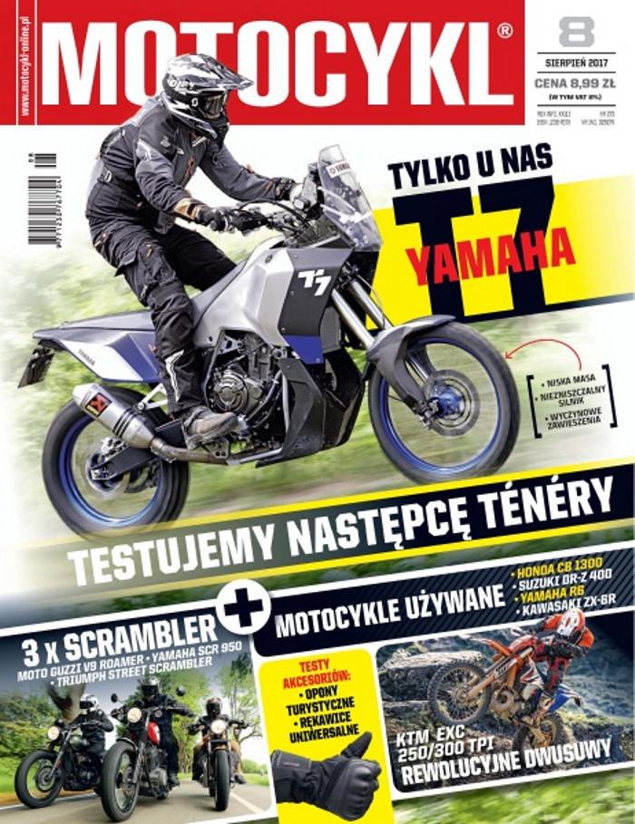 Motocykl -                     8/2017